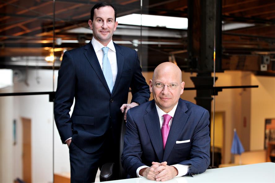 Jefrey Pollock, president and Jon Silvan, CEO