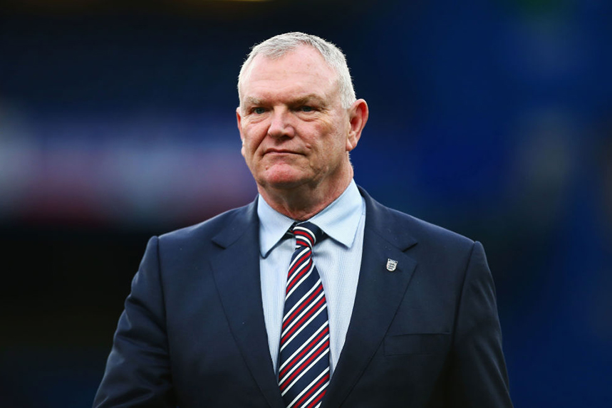 Former FA chair Greg Clarke was widely criticised for his views on ethnic minorities in football. Photo: Getty Images