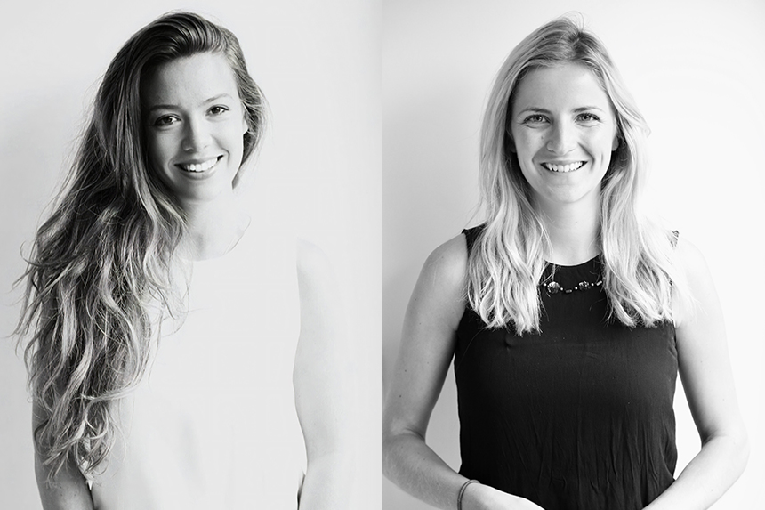 (L-R) Alexandra Delf and Flora Beaumont have been promoted to MDs of MMGY Grifco