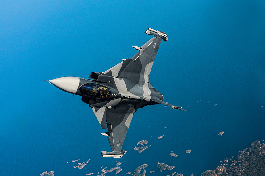 Saab AB is known for the Gripen (griffin) a lightweight, multi-purpose fighter aircraft
