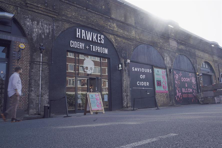 Hawkes: Cidery in Bermondsey will give away 5,000 pints