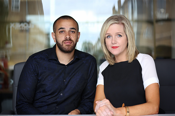 Former 'Dreamers' Aaron Jones and Hannah Moreton have joined Orb.