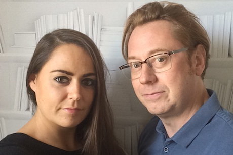 Harriet and James Scott: Founders of GingerComms