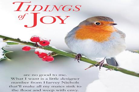 Christmas joy, Harvey Nichols style
