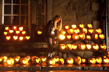 Pumpkins with heart: Hatch PR's activity in the village of Hope in Derbyshire