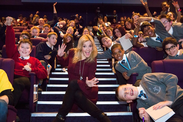 Presenter: Helen Skelton hosted the Eat Like A Champ ceremony in March
