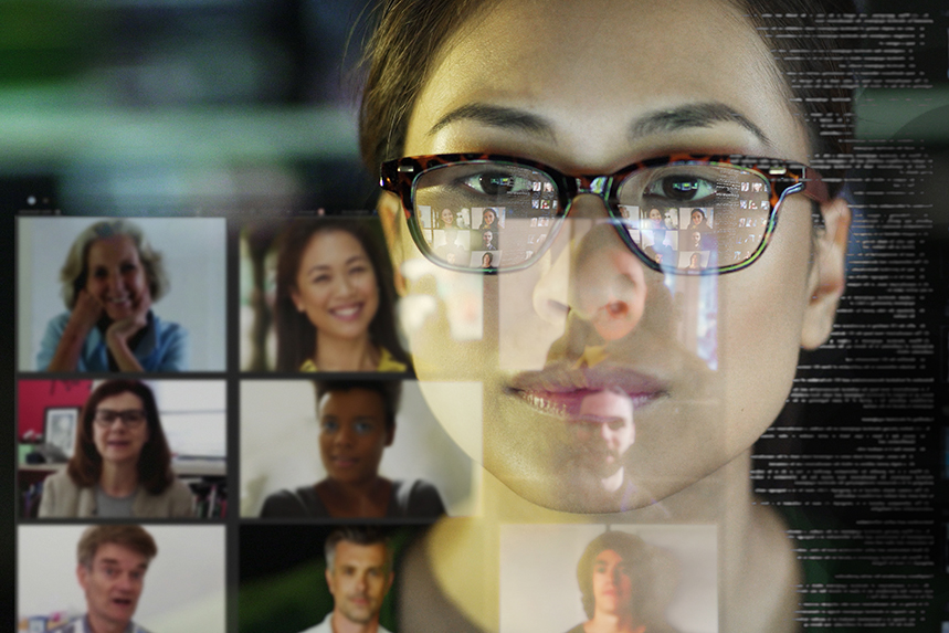 Home working and video conference meetings are here to stay, according to industry leaders (Photo: Getty Images)