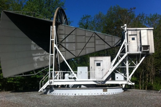 The Horn Antenna, the instrument used to discover proof of the Big Bang theory