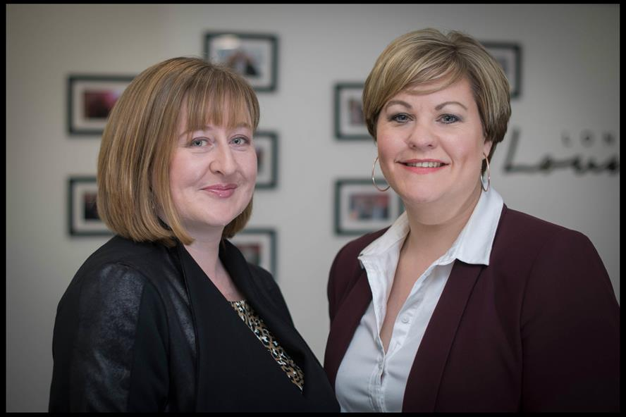 Katie Perrior (left) and business partner Jo Tanner: 'There is considerable potential for growth'
