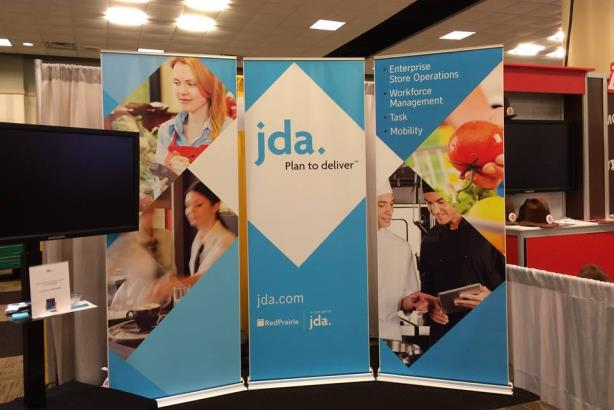 JDA's booth at the recent MUFSO Conference in Dallas