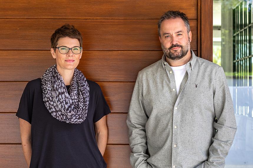 (L-R) Stirred co-founders Jo Spadaccino and Stuart Hehir