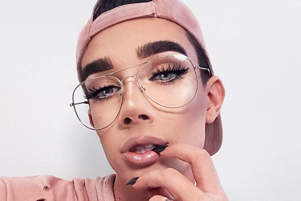 CoverGirl first ever male ambassador James Charles (image via James Charles Facebook page)