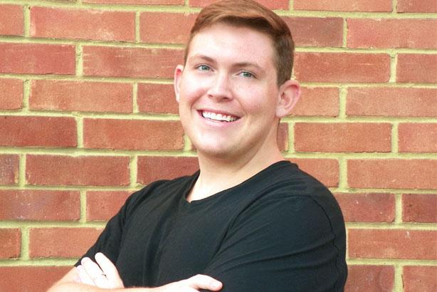 Jeremy Dickey: Douglas Smith Student Award winner