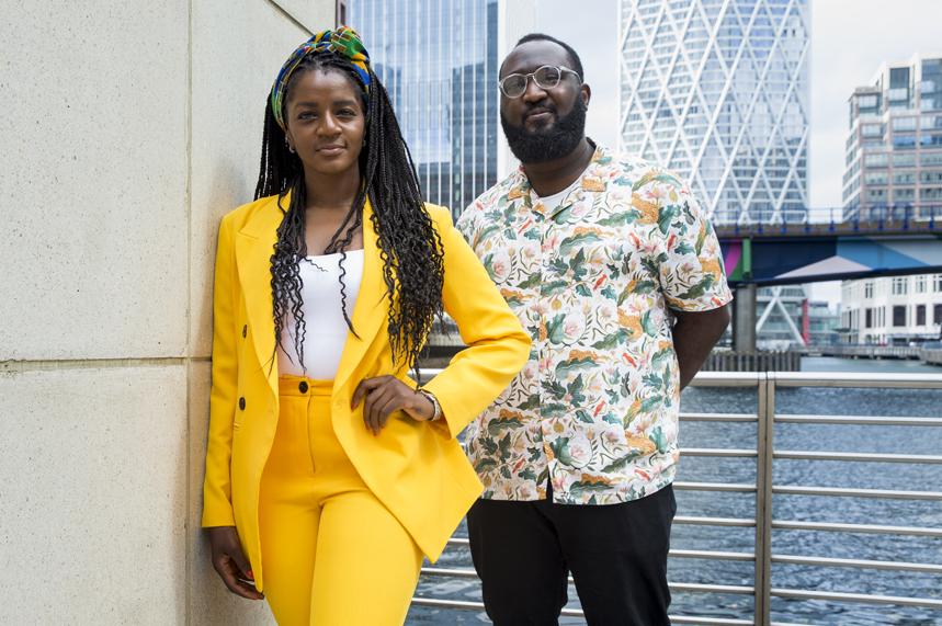 Guest editors: Jennifer Ogunleye and Julian Obubo (Credit: Colin Stout/PRWeek/Haymarket)