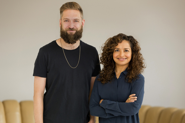 The Romans: Joe Mackay-Sinclair and Misha Dhanak at the agency's launch in 2015