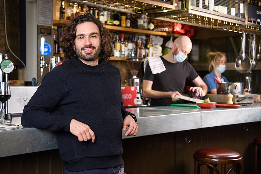 Gousto ambassador Joe Wicks is supporting the Cookstarter campaign