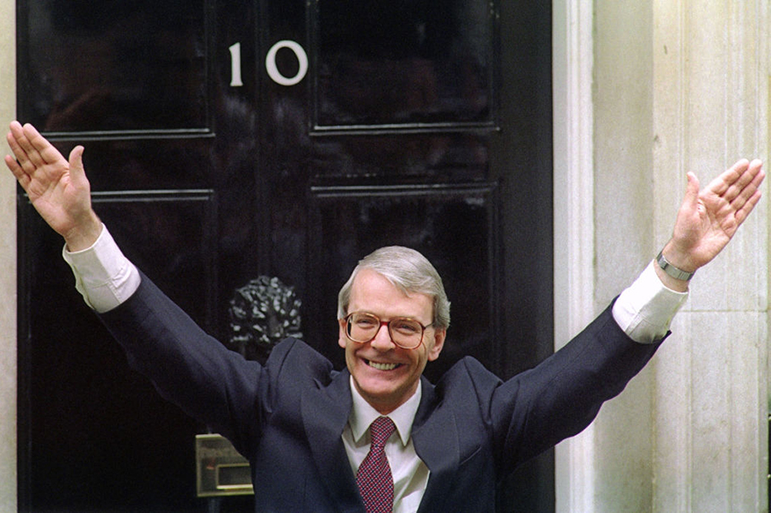 John Major was Prime Minister between 1990 and 1997 (pic credit: Getty)