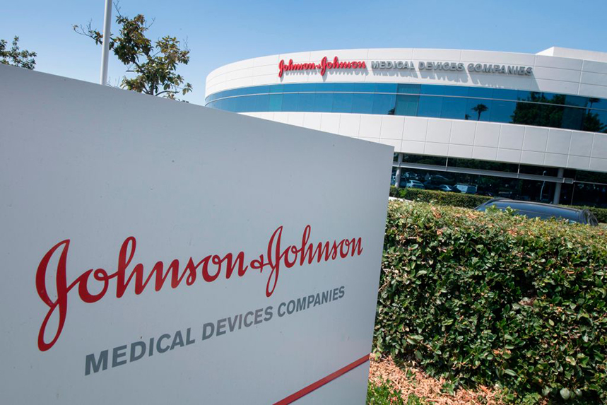Johnson & Johnson's reputation has taken a hit over negative press linked to the opioid epidemic in the US. (Photo: Getty Images)