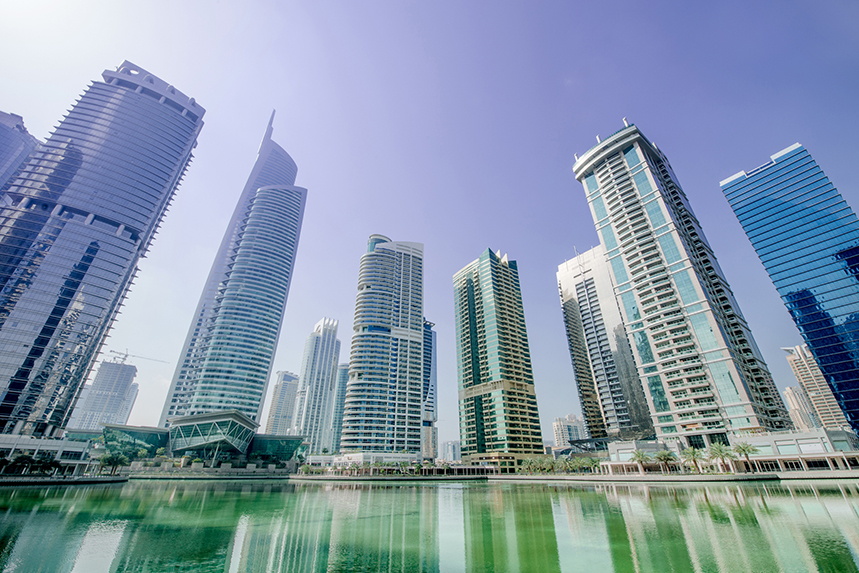 Edelman's Dubai office is located at Jumeirah Lake Towers (©GettyImages)