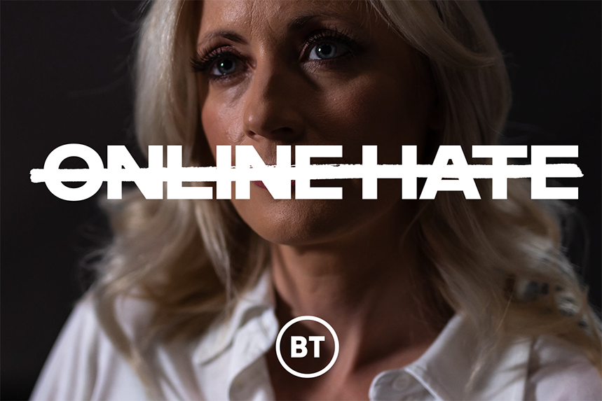 BT Sport presenter Lynsey Hipgrave opens up about the impact of online abuse in a new campaign