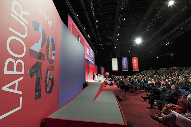 Will the Labour Conference help bring 'unity' to the party? (©PAUL ELLIS/AFP/Getty Images)