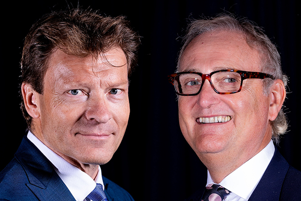 Leave Means Leave founder Richard Tice and chairman John Longworth