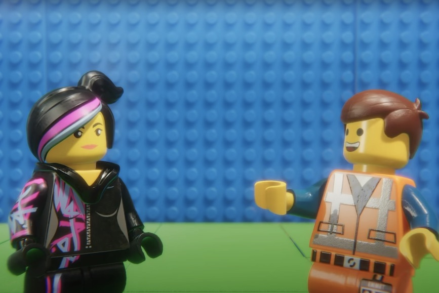"""Lego used characters from """"The Lego Movie"""" to promote safe behavior among children during the pandemic."""