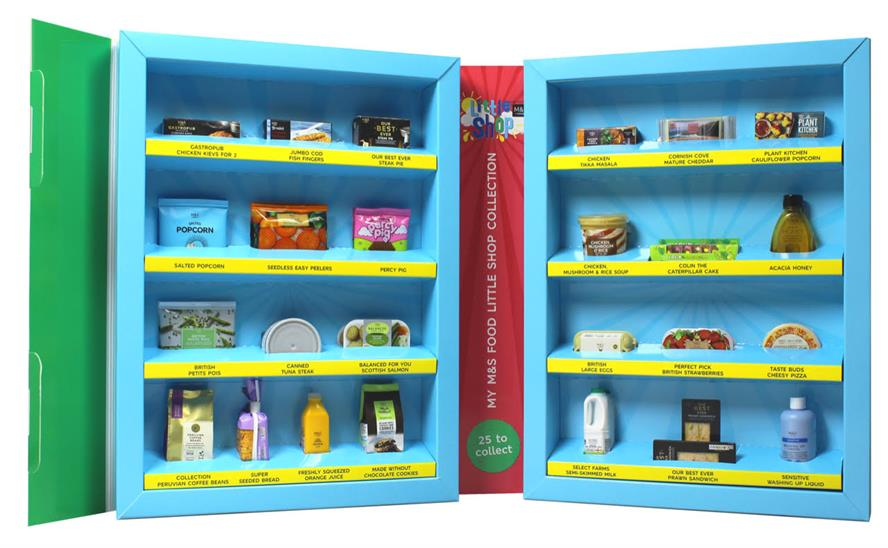 Little Shop features 25 collectable items