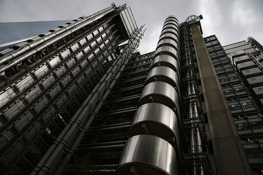 The Lloyd's building on London's Lime Street (Photo: Getty Images)