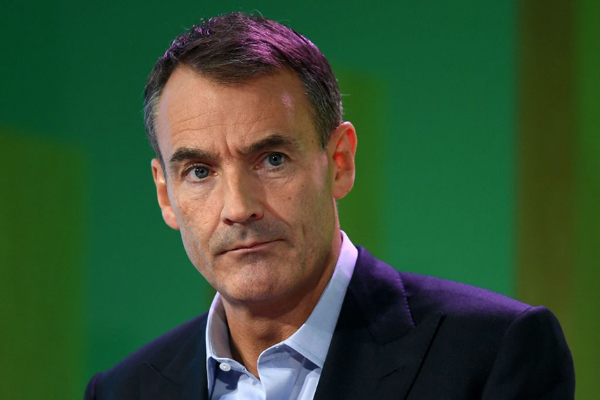 BP CEO Bernard Looney announced redundancies in an email to staff and on LinkedIn