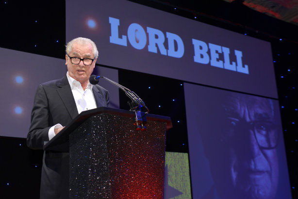 Lord Tim Bell was inducted into the PRWeek Hall of Fame in 2016.