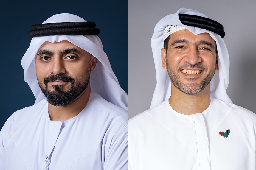 Taryam Al Subaihi (left) and Rashid Al Awadhi are MEPRA's new chair and vice chair, respectively
