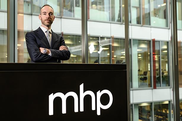 MHP Communications new recruit Peter Hewer.