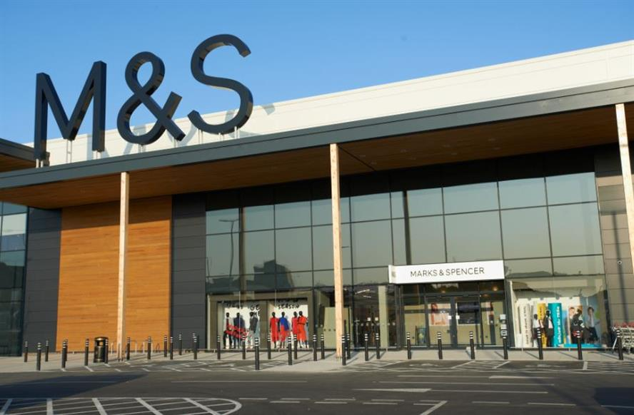 The M&S store in Charlton