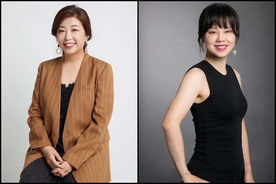 From left: Eddi Yang & Lisa Zhang