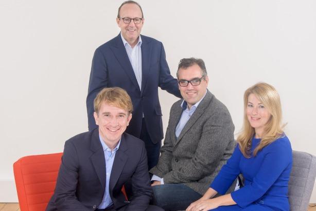 MWW senior team: L-R: Matt Bourn, SVP head of European media practice; Michael Kempner, founder, president and CEO; Patrick Herridge, UK MD; Sarah Locke, global brand ambassador