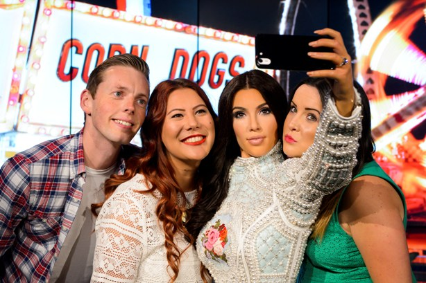 Cheese! Stripe Communications has been hired to represent Madame Tussauds London (pictured)