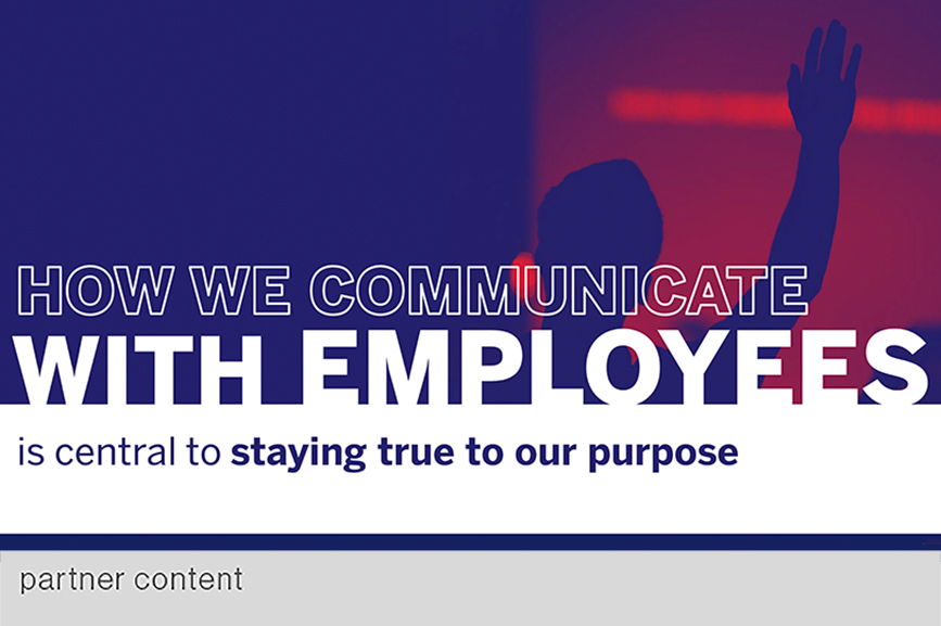 """Employees """"need to be engaged as the top stakeholders they are,"""" says Olson about a key aspect of being authentically purposeful."""