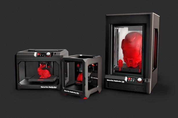 MakerBot's 3D printers