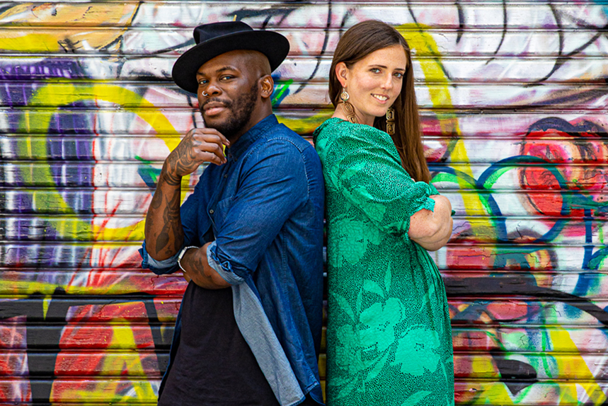 (L-R) Manifest Melbourne co-founders Jessie Bowers and Isabel Thomson-Officer
