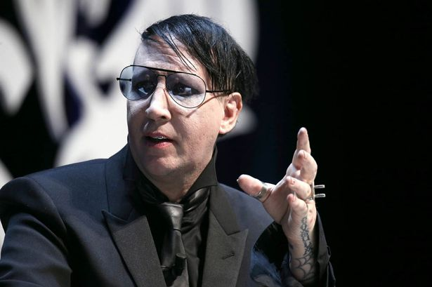 "Marilyn Manson at Cannes, where he helpfully pointed out that having ""an avatar was not the same as having an identity""."