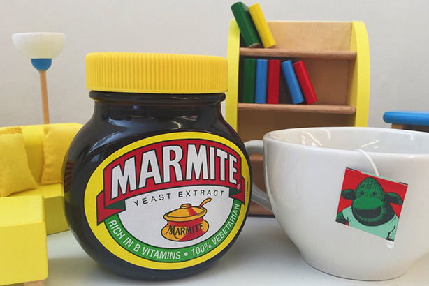 Marmite: Poster boy of the Unilever vs Tesco spat (image from @Marmite on Twitter)