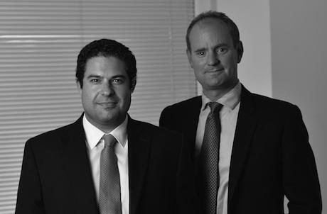 Matt Ridsdale and Jos Simon: joint chief executives