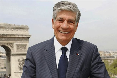 Publicis chief executive and chairman Maurice Levy
