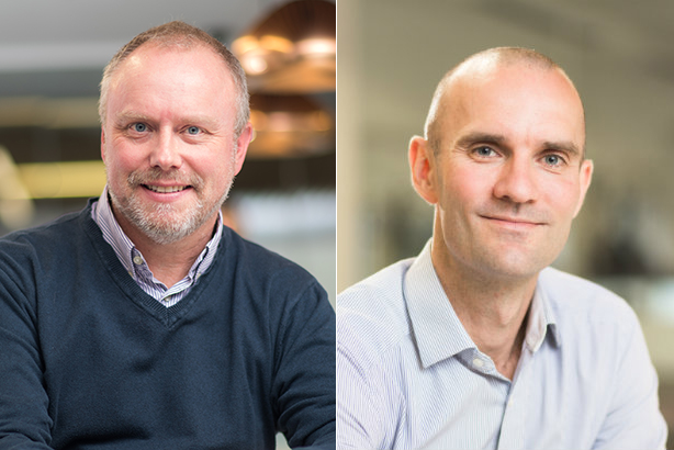 Andrew Baiden (left) will succeed Eddie May at Hanover offshoot The Playbook