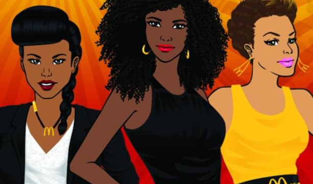 @McDScene's Twitter cover image promoting the 2014 Essence Festival
