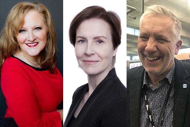 l-r: Johna Burke, AMEC; Finola McDonnell, the FT; Ian Stevens, Network Rail