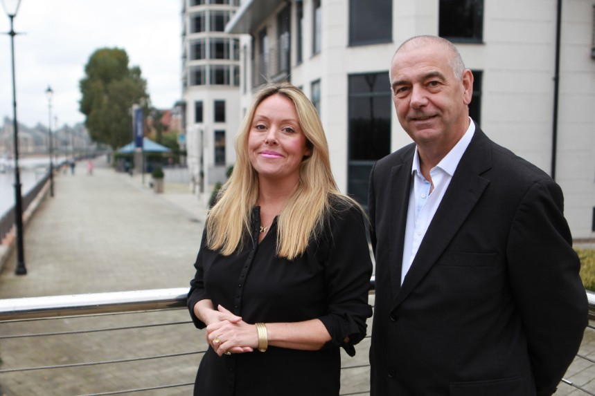(L-R) Media Zoo co-founders, managing director Rachel Pendered and creative director Mark Killick