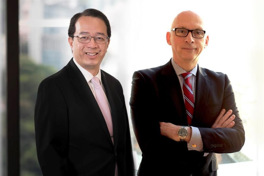 From left: Richard Tsang & Montieth Illingworth