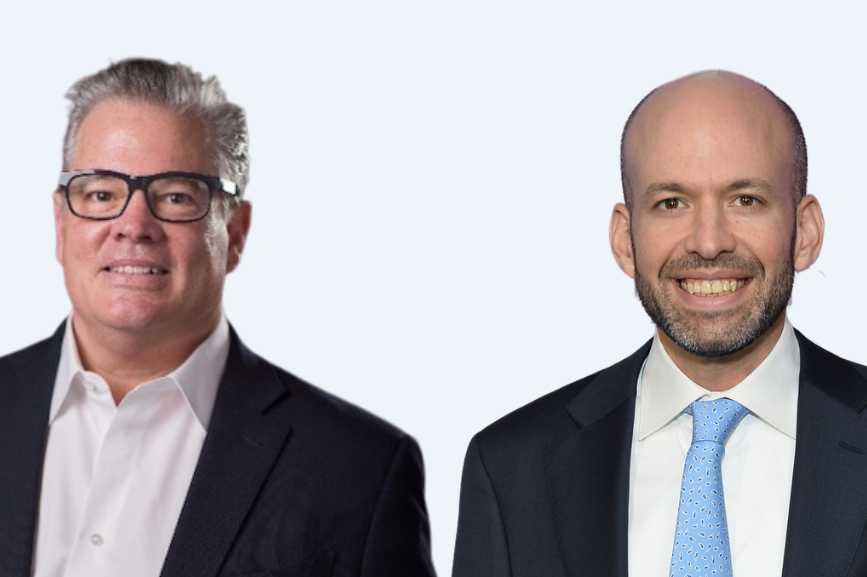 L to R: Geff Scott and Greg Galant (Photo credit: Mike Schneider)